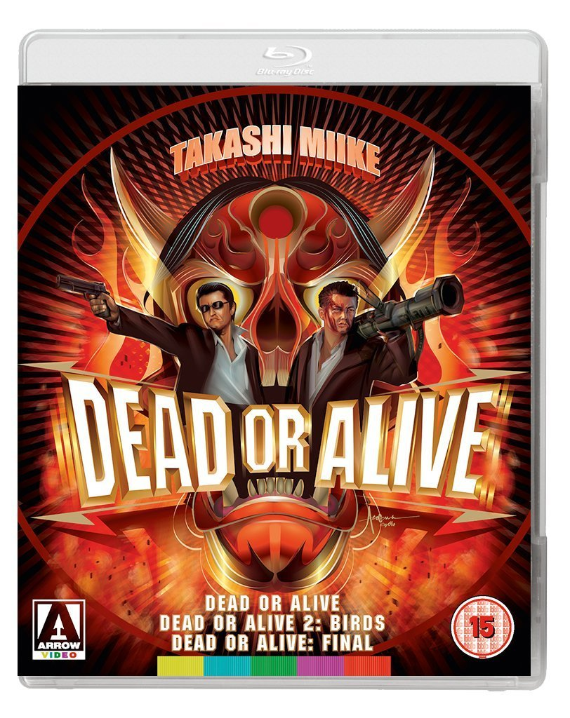 'Dead or Alive Trilogy' Review (Arrow Video Blu-Ray)