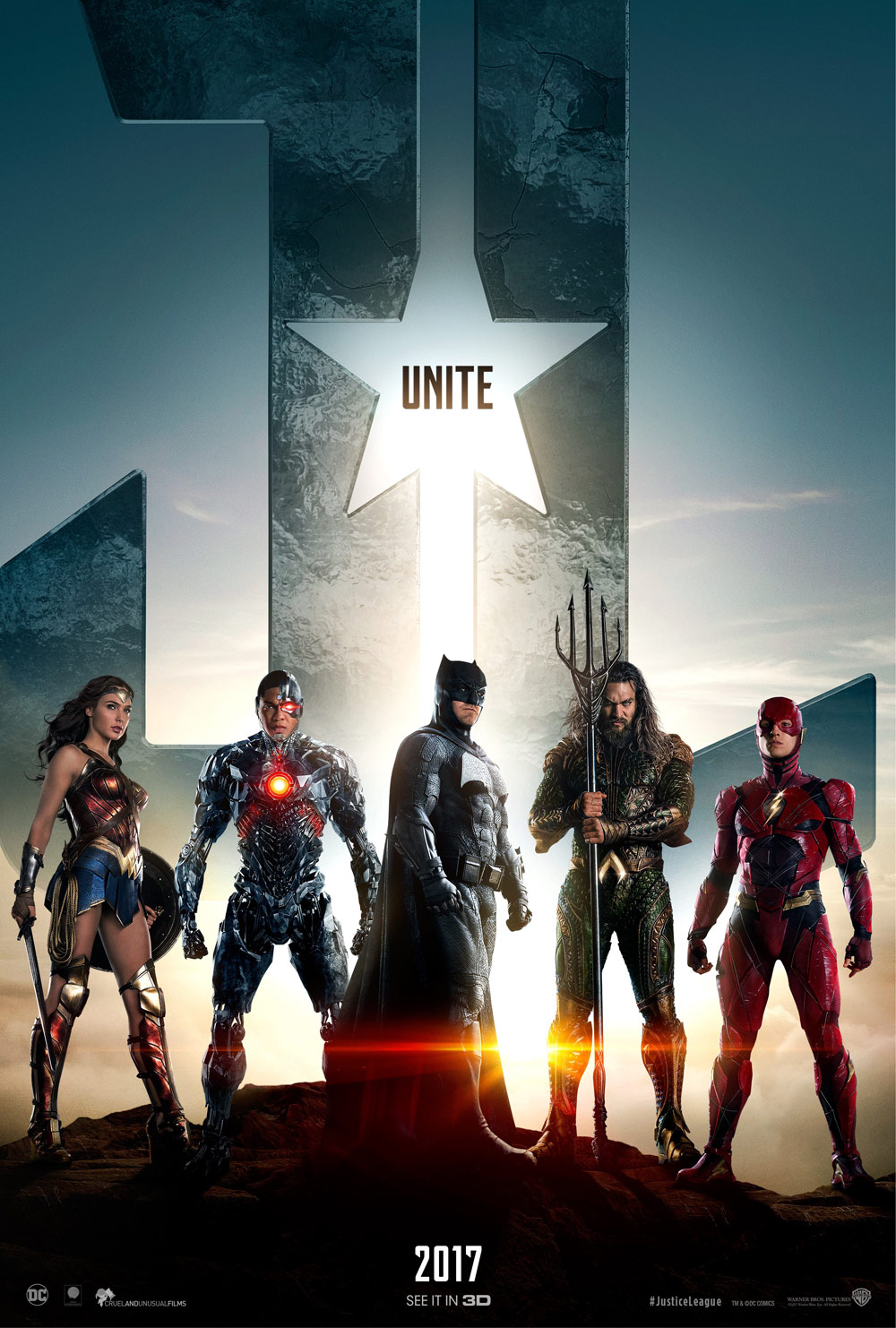 Justice League Trailer and Teaser Poster Revealed