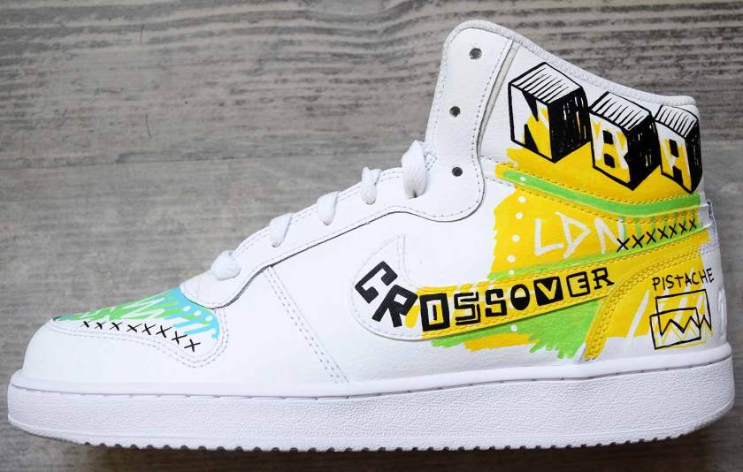 NBA Crossover London Custom Shoes