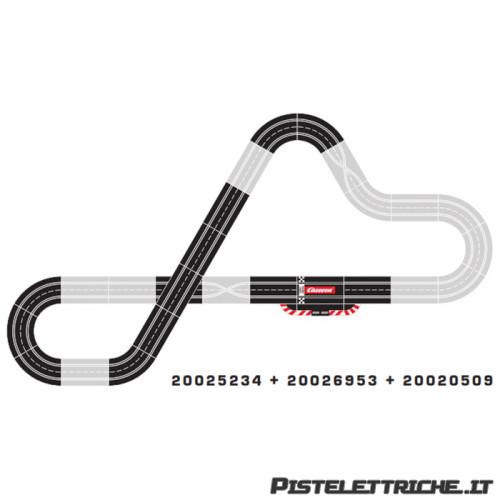 Pista Elettrica Carrera Evolution 25234 DTM Speed Duel