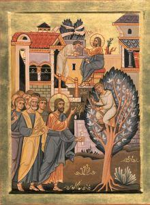 Zaccheo e Gesù