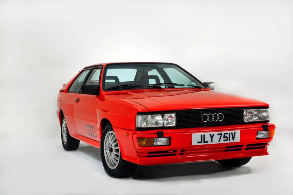 Ashes to Ashes Audi Quattro sells for £38,598