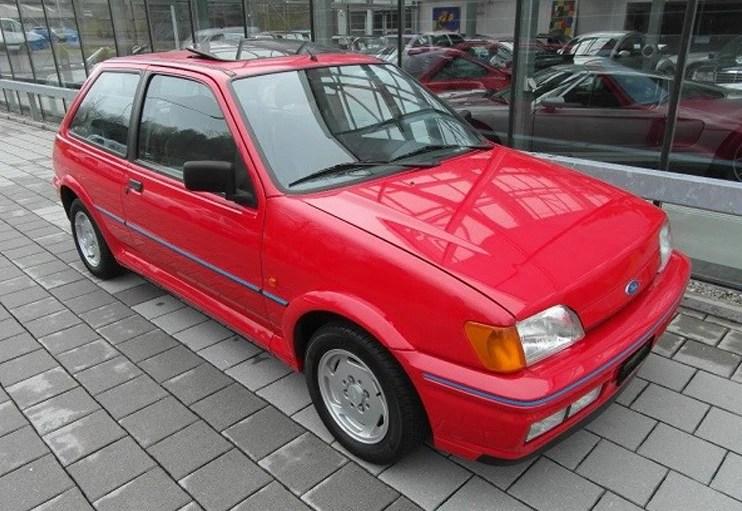 1989 FORD Fiesta XR2i