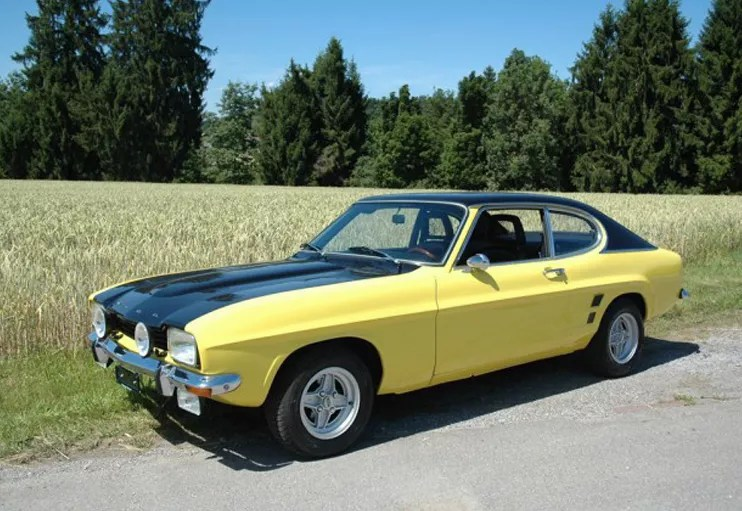 1973 FORD CAPRI GT