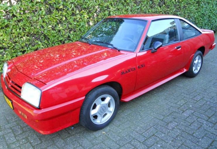 1988 Opel Manta GSi