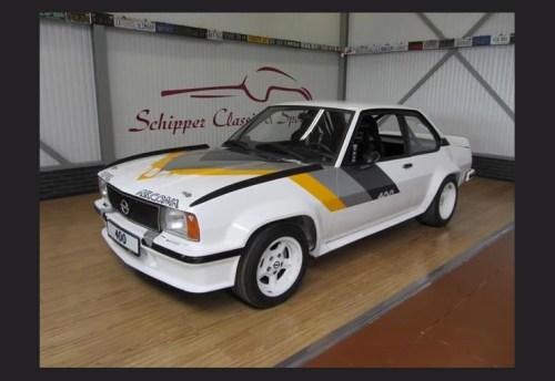 1981 Opel Ascona 400