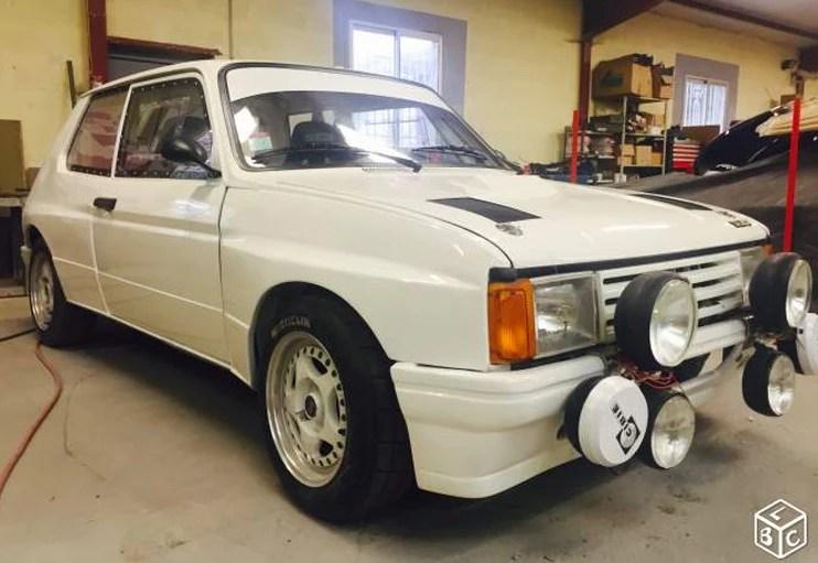 1983 Talbot Samba Rally
