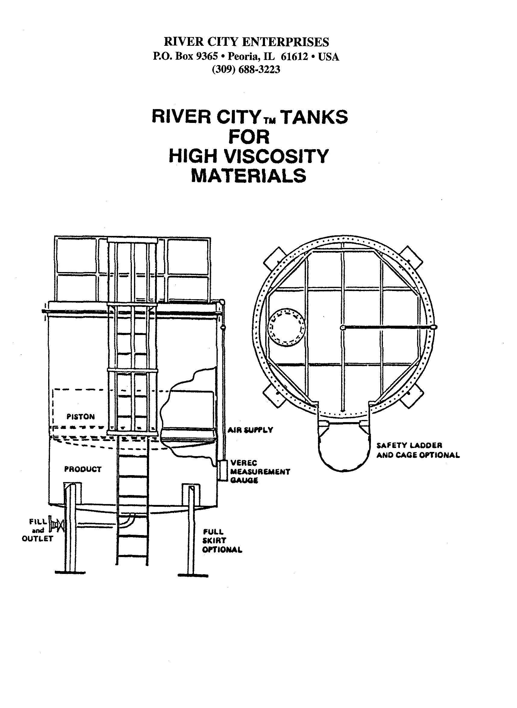 Bulk Grease Storage Bulk Grease Tank