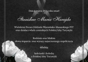 Żegnamy Stanisława Harajdę – Członka Honorowego Polskiej Izby Turystyki