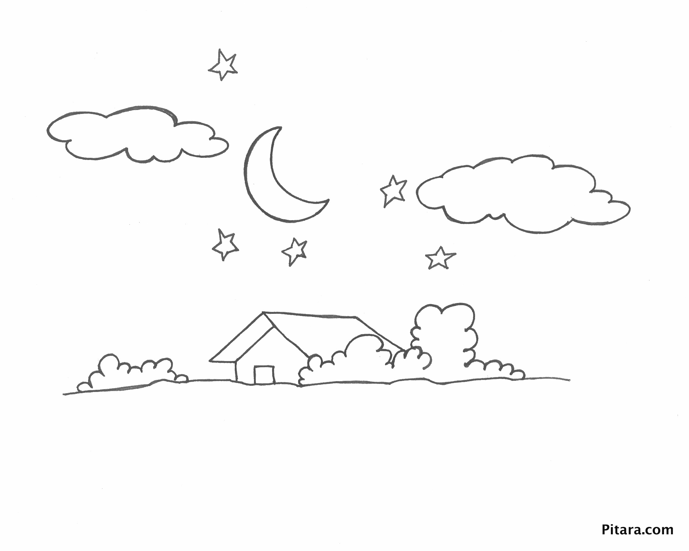 House – Coloring page