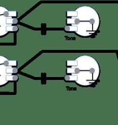gibson wiring diagram for volume [ 1268 x 633 Pixel ]