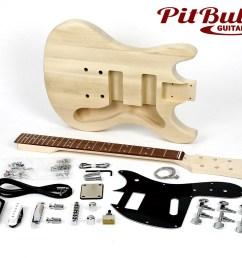 shop diy guitar kits pit bull guitars mk2 electric guitar kit guitar string diagram electric guitar wiring  [ 1050 x 840 Pixel ]