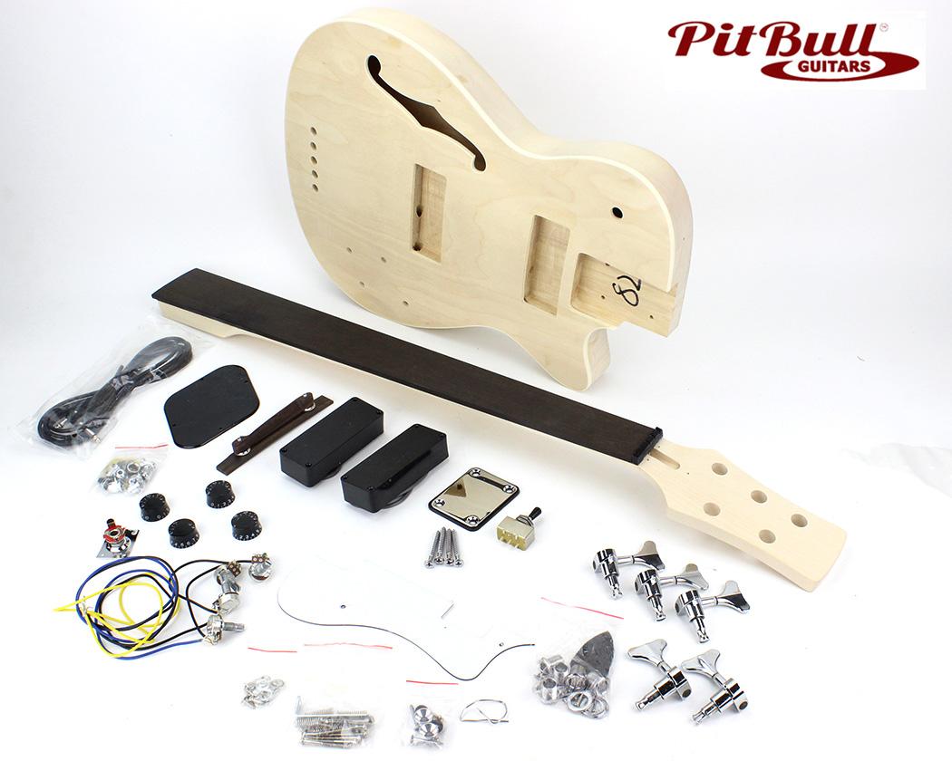 hight resolution of  semi hollow electric bass guitar kit previous