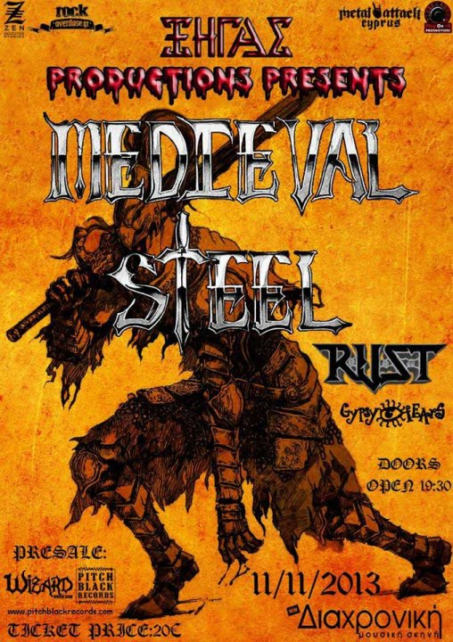 Medieval Steel Live in Nicosia