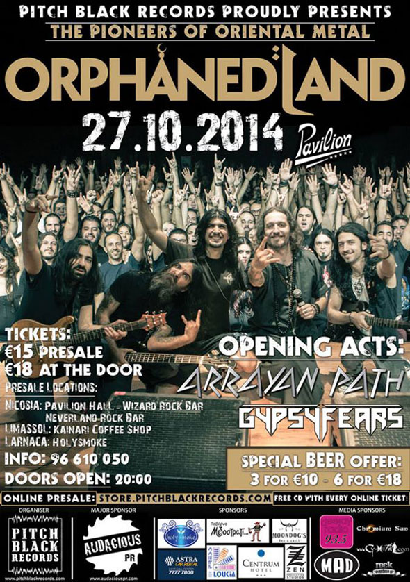 Orphaned Land Live in Cyprus