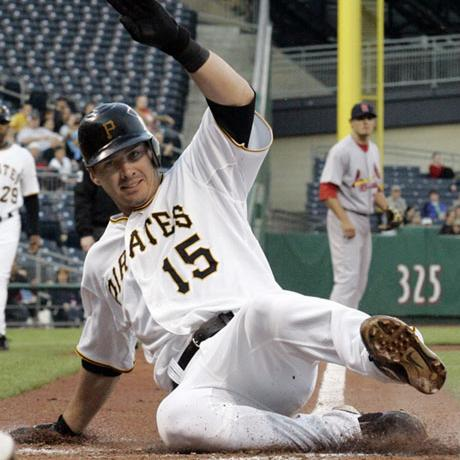 Andy LaRoche was 5-5 while hitting two homers and driving in six runs as the Pirates take an easy 11-1 win over the Dodgers.