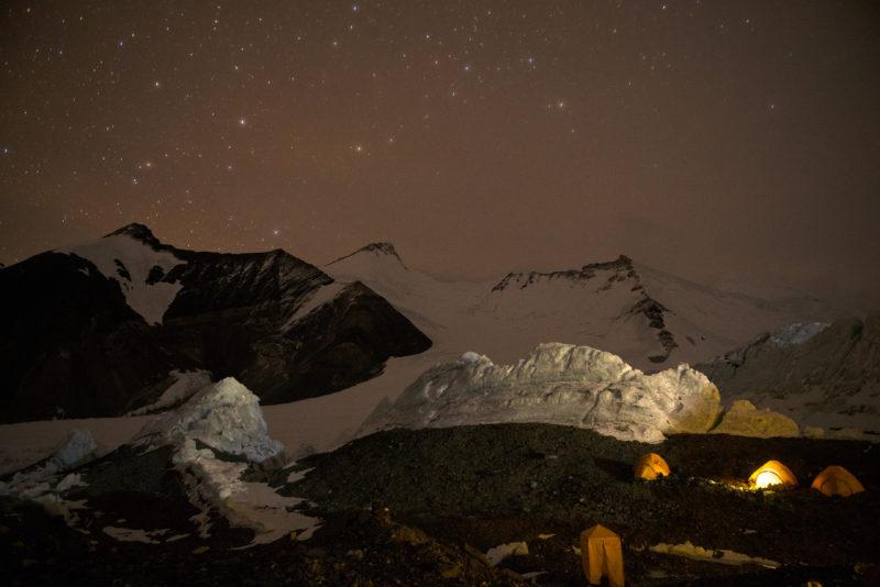 DSC_6099_Advanced basecamp (6400 m) at night. Copyright Dave Ohlson_50percent