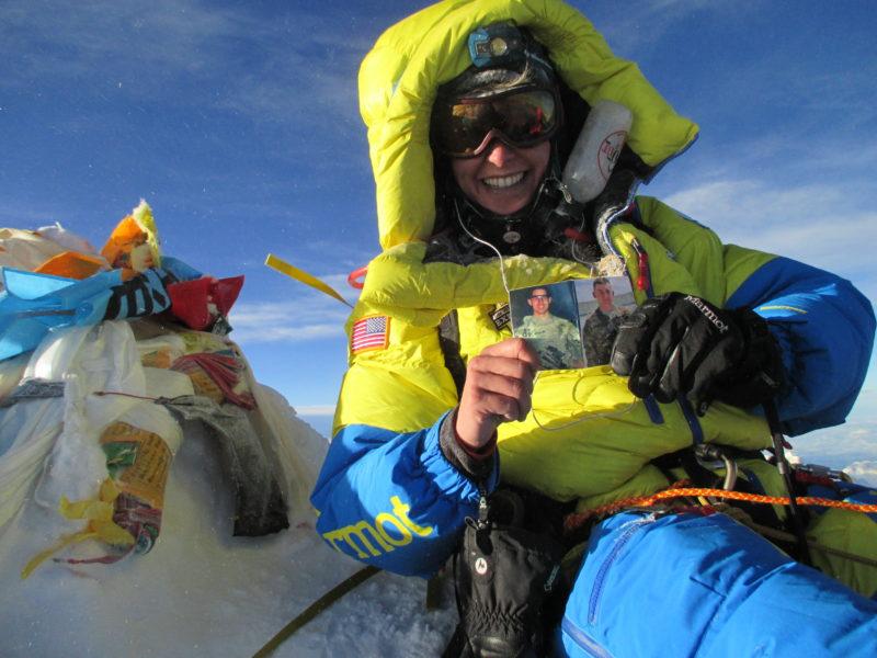 Elyse Ping Medvigy_Team USX_Mount Everest Summit_5.24.16