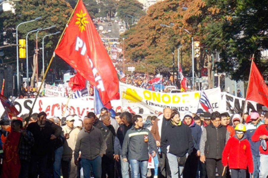 PIT-CNT rechaza judicializar y criminalizar la protesta social o el conflicto