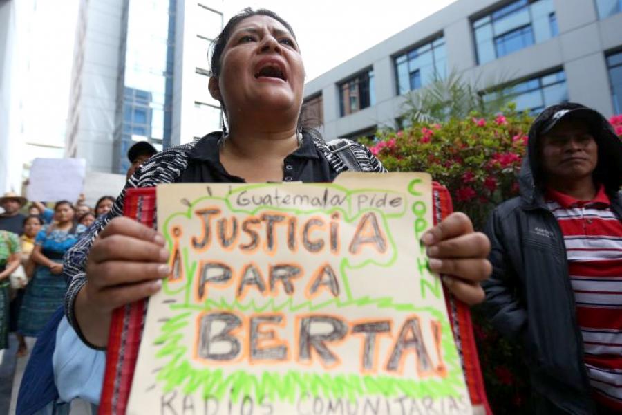Honduras: Repudio por el crimen de dirigente indígena Berta Cáceres