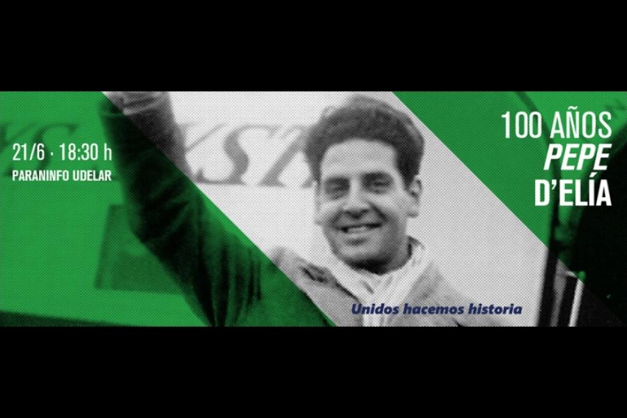 El movimiento sindical homenajea hoy martes en el Paraninfo de la Universidad a un símbolo de la unidad: José Pepe D´Elía