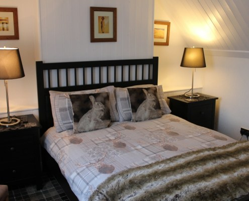 Double Ensuite in Pitfaranne B&B Inverness