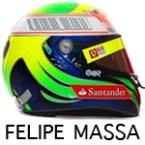 Felipe Massa helmet