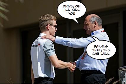 Dennis offers Magnussen Mclaren pep talk