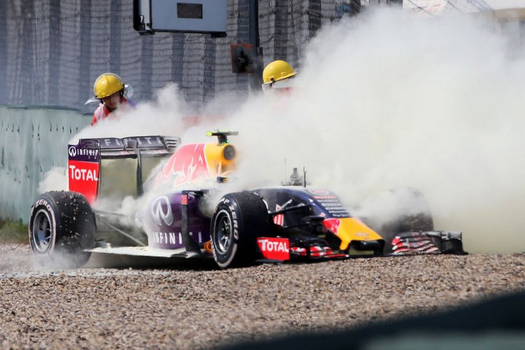 Renault still honing perfect engine blow-up