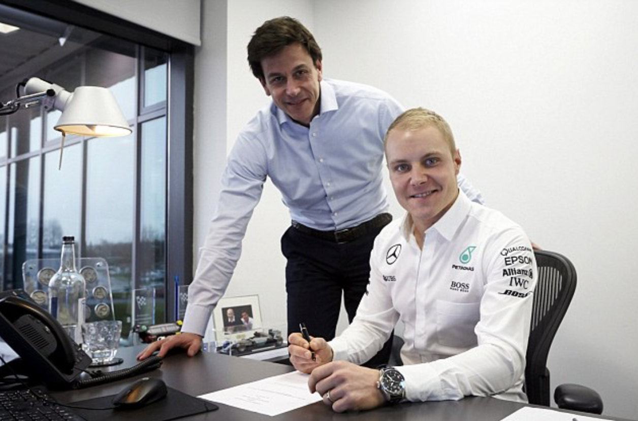 Temping better than permanent actually, claims Bottas