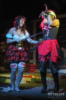 Janie Slash and Delilah Dynamite