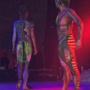 Body Panting para Art Color Ballet