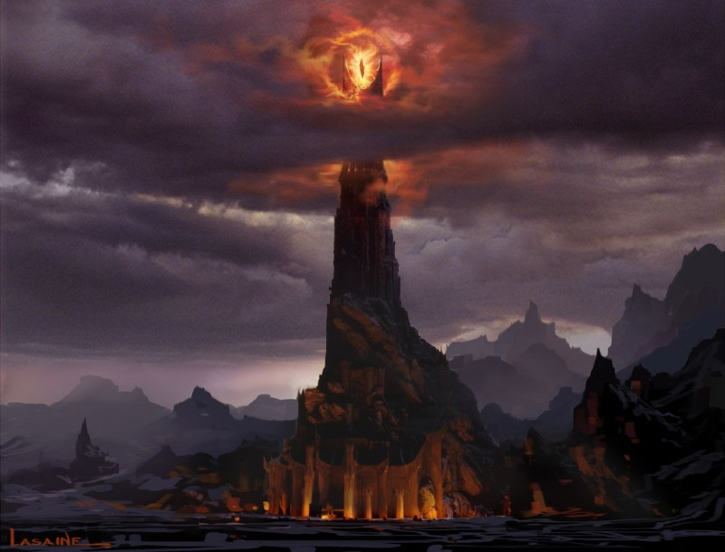 Barad-Dur and the Eye of Sauron