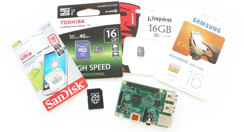 Raspberry Pi SD Cards