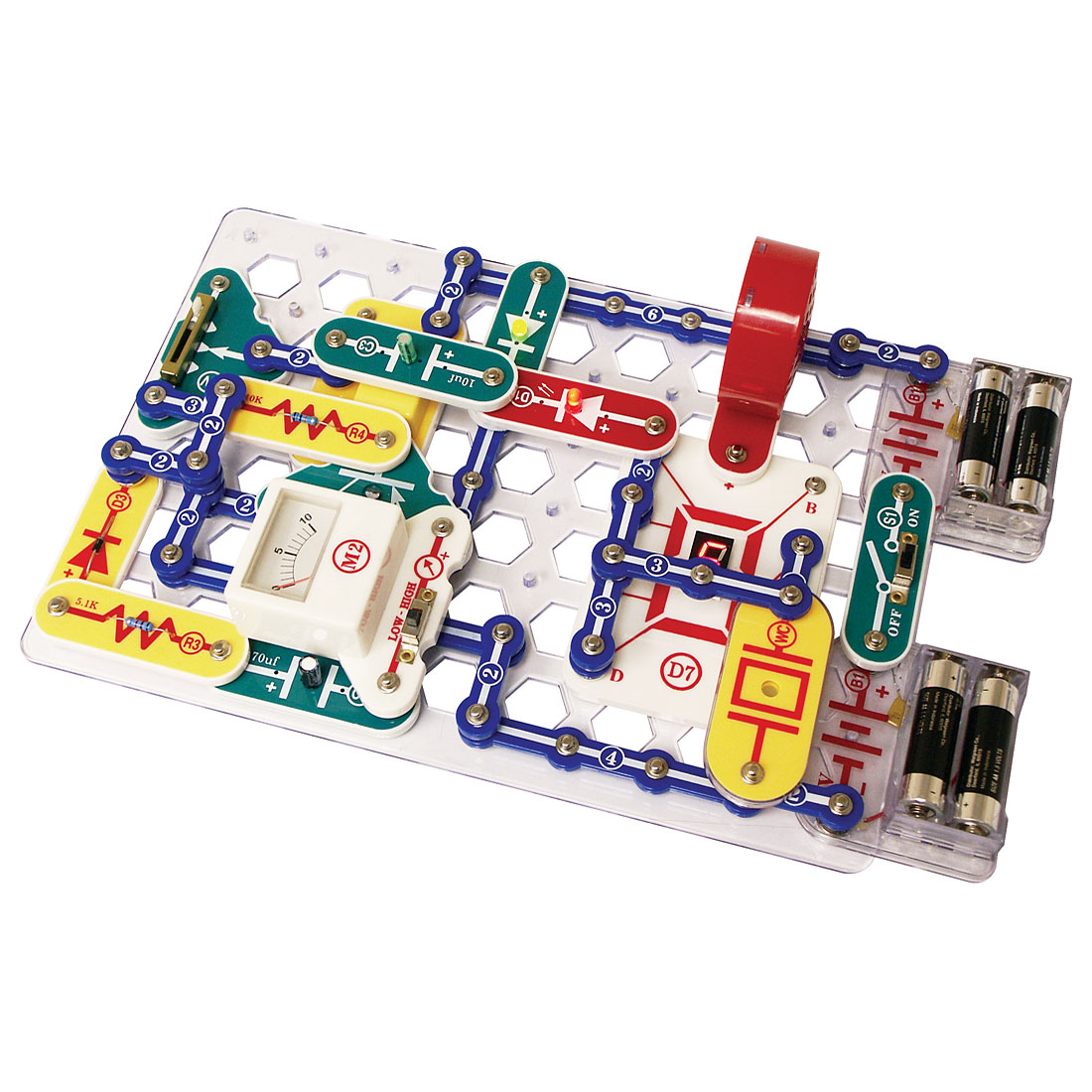 Snap Circuits Motion 165 Projects