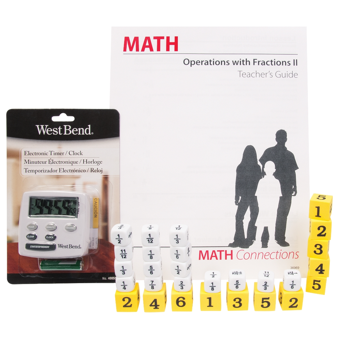 Math Connections Operations With Fractions Ii W