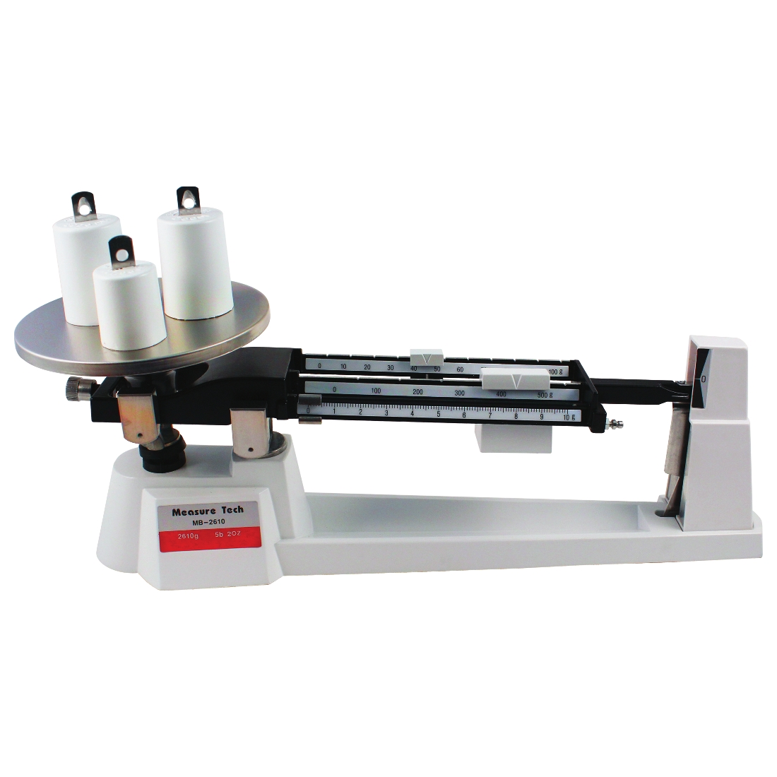 Triple Beam Balance With Weights W