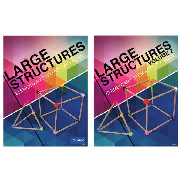 Large Structures Elementary Stem Activity Guides 2-pack