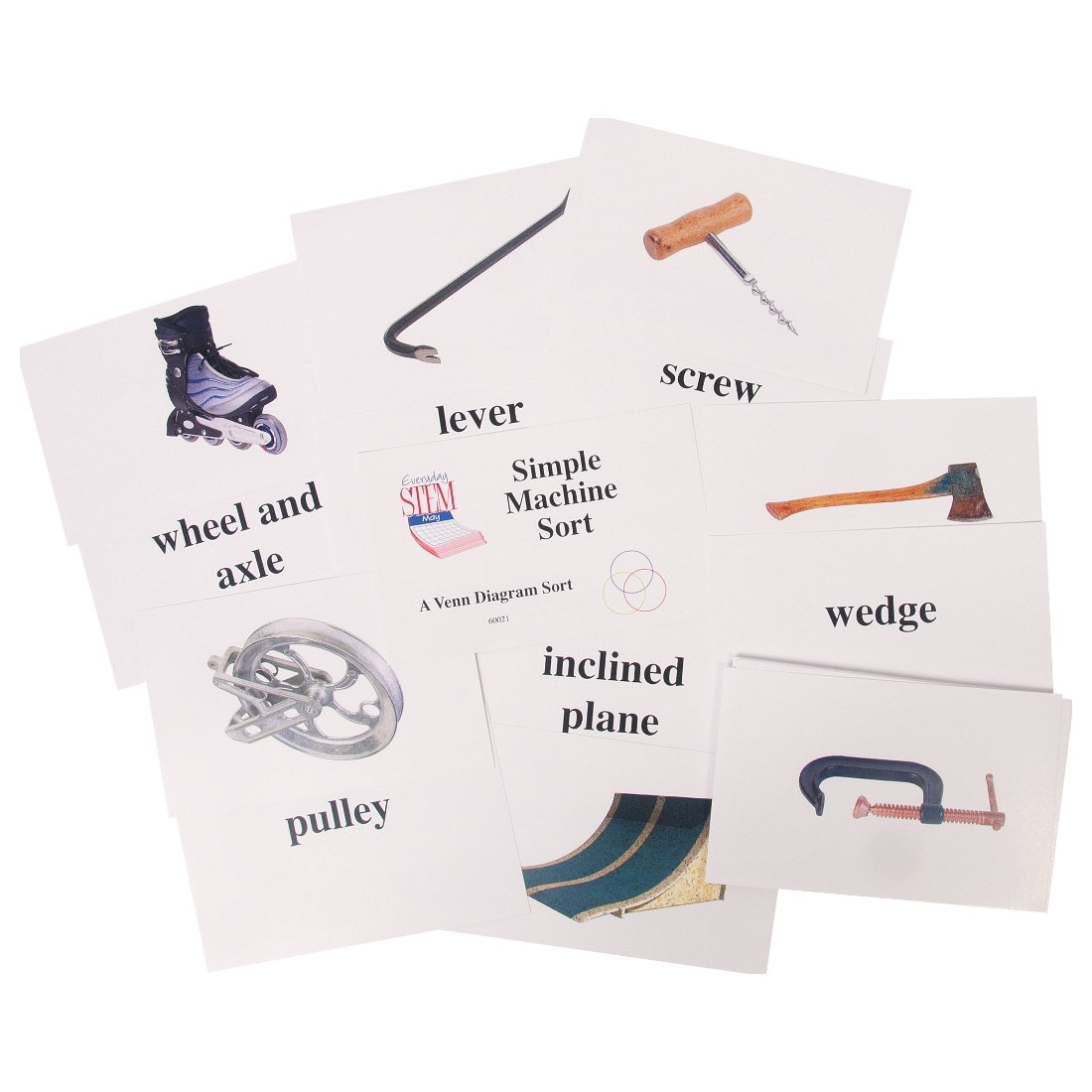 Simple Machines Venn Diagram Card Sort