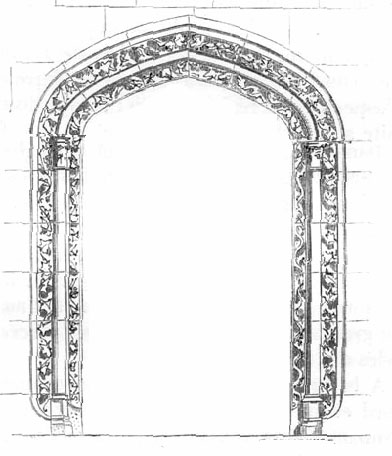 Glossary of Medieval Art and Architecture: depressed arch