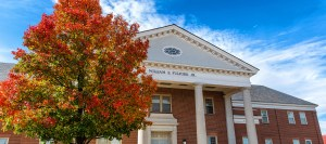 fulford building in the fall