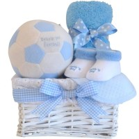 My First Football Baby Boy Gift Hamper / Boys Baby Hamper ...