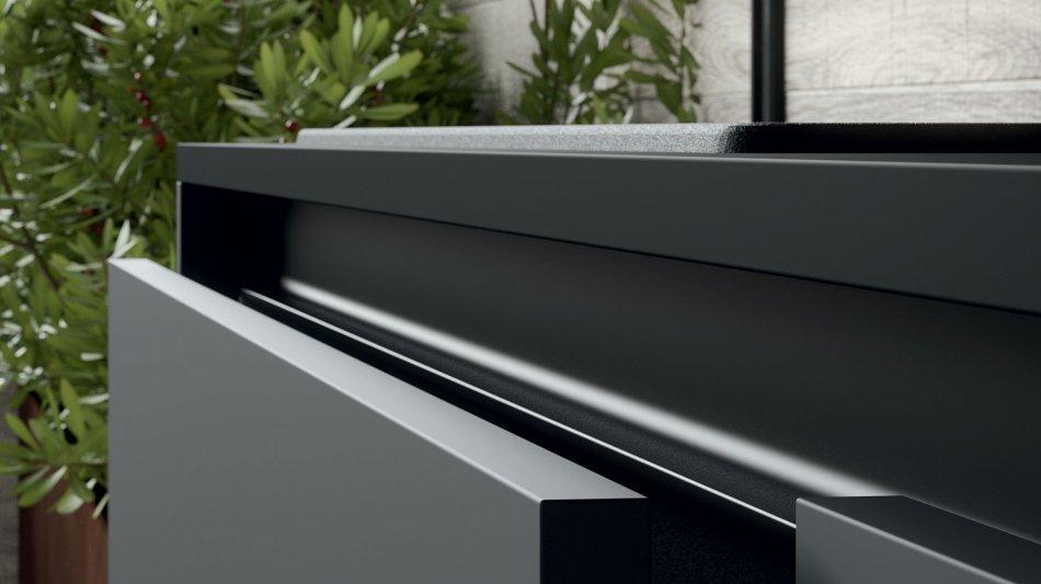Bellezza estetica e la funzionalit dellinnovativo laminato soft touch Fenix NTM  Pittini
