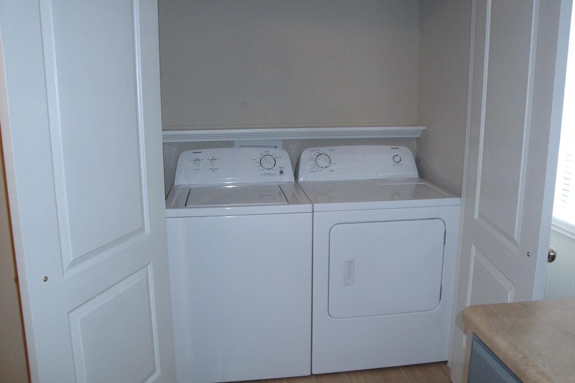 Stancil Drive Duplex Laundry Area