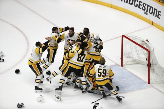 Penguins Stanley Cup :  The Pens go Back to Back!