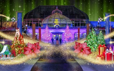 History of the Phipps Conservatory Winter Flower Show and Light Garden