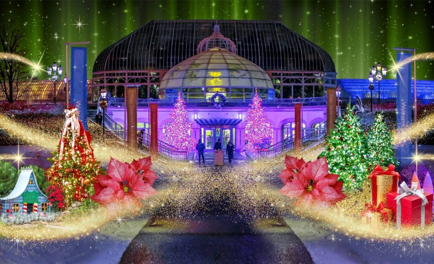 Phipps Conservatory Christmas 2019.History Of The Phipps Conservatory Winter Flower Show And