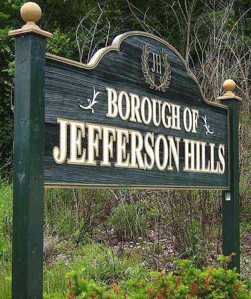 Pittsburgh Suburb: History of Jefferson Hills