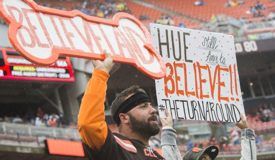 MoioMusings – A tie is better than a loss – IF YOU'RE THE BROWNS!