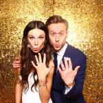 gold photo booth example